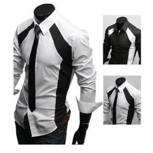 2013 Fall Men's Casual Slim Fit Stylish Dress Long Sleeve Shirts