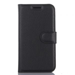 OCUBE Flip-open PU Leather Auto Wake-up Case for PPTV King7 - Black