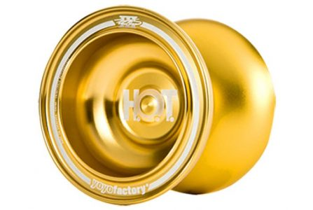 GOLDEN  YoYoFactory HOT Yoyo Butterfly Shape Aluminum Alloy Competition Yo-Yo