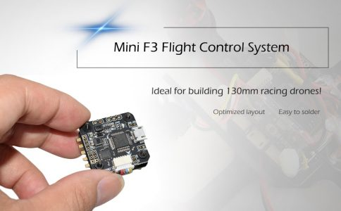 COLORMIX  Mini Brushless F3 Flight Control System