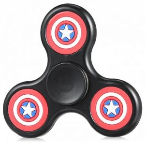 BLACK Classic Five-pointed Star Fidget Finger Spinner