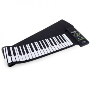 88 Keys MIDI Electronic Roll Up Pinao Kit Support Windows Mac System - 100 - 240V