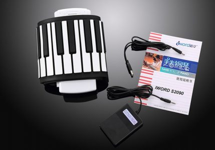 Novelty Portable Hand Roll Piano for Children iWord S2090