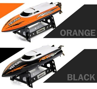 Tempo Power Venom UDI 001 2.4G RC Boat High Speed Racing Yacht BLACK