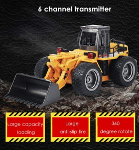 HUINA RC Simulation Alloy Truck Construction Toy MULTI