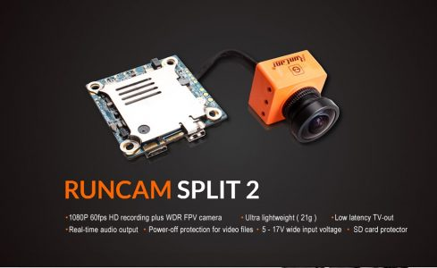 FPV Camera RunCam Split 2 2MP HD with WiFi Module