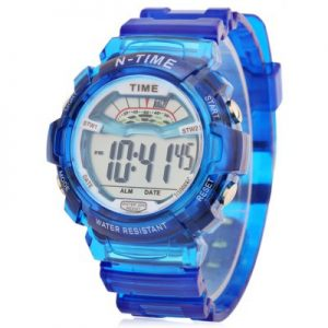 Sports Date Day Display Backlight Alarm Clock Kids Watch