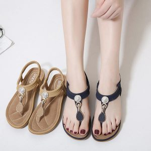 Women Casual Soft Sole Beach Outdoor Flat Sandals