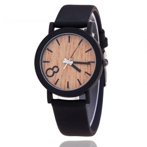 Relojes Quartz girls Watch Casual picket Color animal skin Strap Watch Wood Male ticker Relogio Masculino 2016 Simulation picket