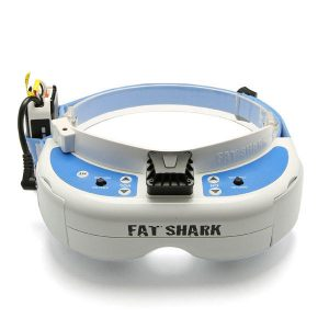 Fatshark Dominator V3 FPV Goggles Glasses 720p HD Port 800X480 With 18650 Battery Case for RC Drone