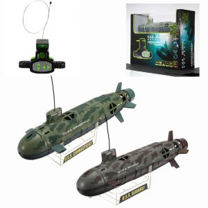 Scuba Seawolf Nuclear Submarine Remote Control Toy 6 Channel 35cm RC Diving