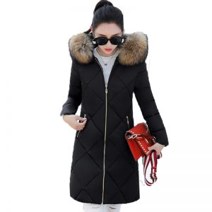 ZVAQS Hot Casual Winter jacket girls Long Thick Jackets feminine Outwear prime quality heat Women's Winter Coats Abrigo Mujer ST263