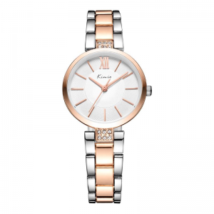 KIMIO KW6133S Fashion Women Quartz Watch Elegant Rhinestones Ladies Dress Watch