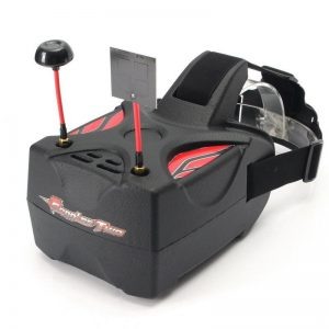 Eachine Goggles Two 5 Inches 5.8G Diversity 40CH Raceband HD 1080p FPV Goggles for RC Drone