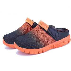 Summer Men Mesh Beach Outdoor Slip On Comfortable Flats Sandals Slipper Shoes
