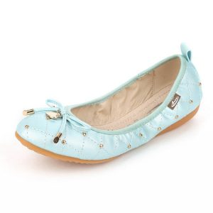 Big Size Women Foldable Ballet Flats Solid-colored Slip-Ons Soft Flats