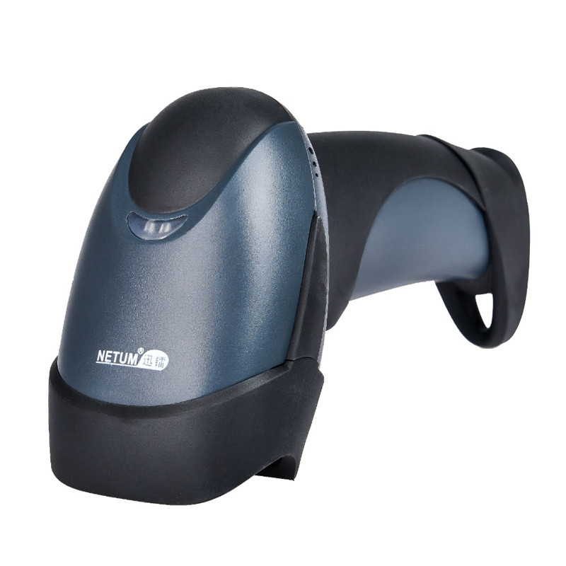 Wireless Barcode Scanner Reader 32Bit High Scaned Speed Cordless POS Bar Code Scan for inventory M2