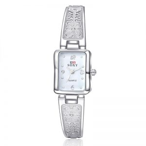 SOXY 0014 Casual Style Ladies Bracelet Watch Elegant Design Quartz Watches