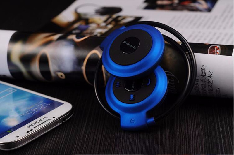 Bakeey™ 503 Sport Running Sweat-proof TF Card Ear Hook Bluetooth Headphone Headset with Mic for Phone