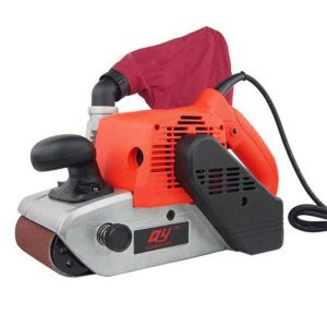 HILDA 220V 1400W Belt Sander 4 Inch Abrasive Belt Machine Wood Metal Polishing Sanding Machine