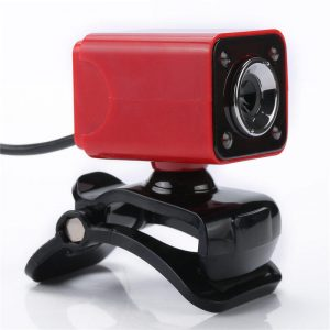 A862 360º Rotating HD 12.0M Pixels 4 LED lights Webcams for Laptop PC