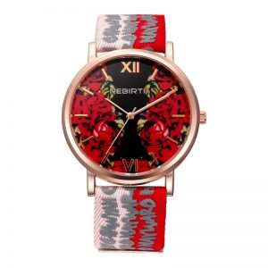 REBIRTH RE062-2 3ATM Waterproof Ladies Wristwatch Luxury Casual Style Quartz Movement Watch