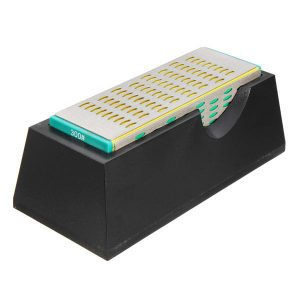 15x5x5cm Four Sided Diamond Sharpener 200/300/400/600 Grit Diamond Sharpening Stone