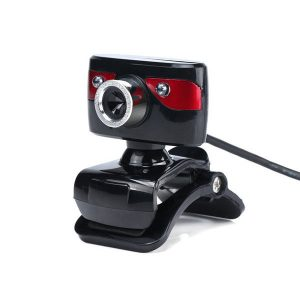 A886 360º Rotating 12.0M Pixels HD 2 LED lights Webcams for PC Laptop
