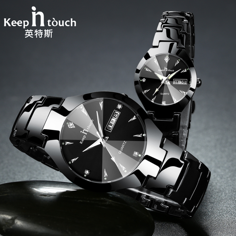 Casual Style Couple Wrist Watch Gift