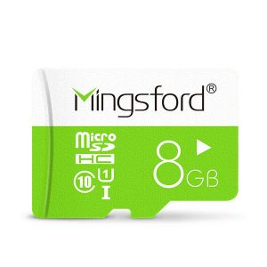 Mingsford Colorful Edition 8GB Class 10 Micro SD TF Memory Card