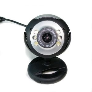 USB 12.0M 6 LED WEBCAM CAMERA Webcams MIC FOR PC LAPTOP