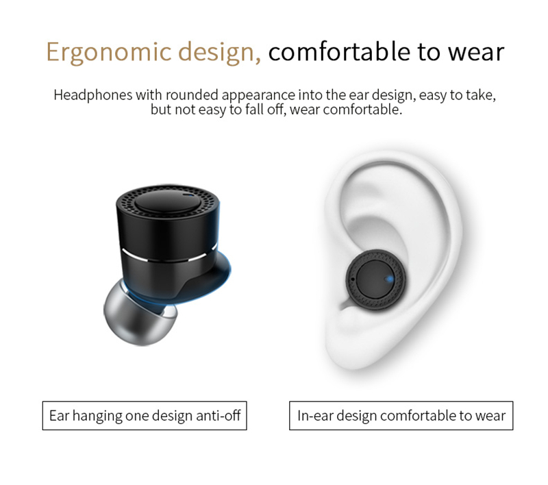 [Truly Wireless] OVEVO Q62 Balanced Armature Driver Bluetooth Earphone With Charging Box