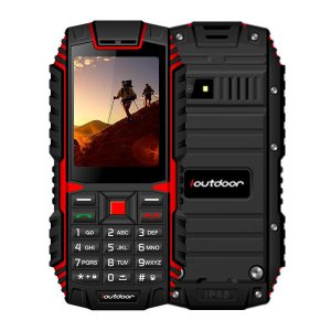 ioutdoor T1 IP68 Waterproof Level 2.4 Inch 2100mAh 2MP 128MB Flashlight FM Dual SIM Waterproof Phone