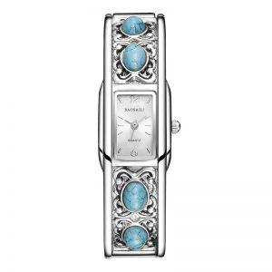 BAOSAILI BSL-009 Rectangle Ladies Bracelet Dress Watch Casual Style Quartz Watch
