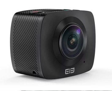 Elephone Elecam 360 WiFi Action Camera Dual Lens WITHOUT TF CARD  BLACK