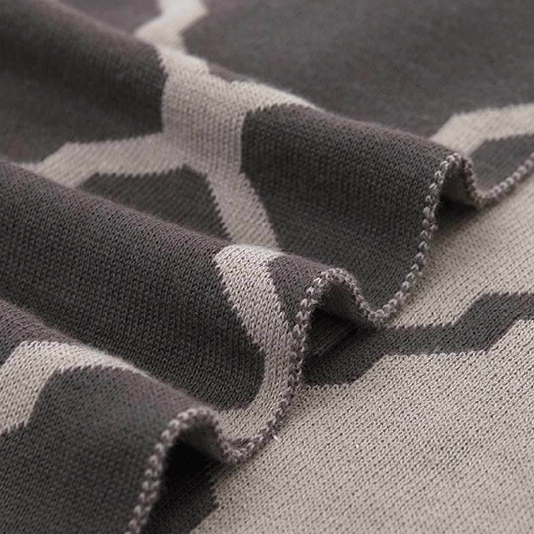 Original XIAOMI Nightly Warm Winter Cotton Knitting Blanket Double-dyed Baby Available Home Textile Gift