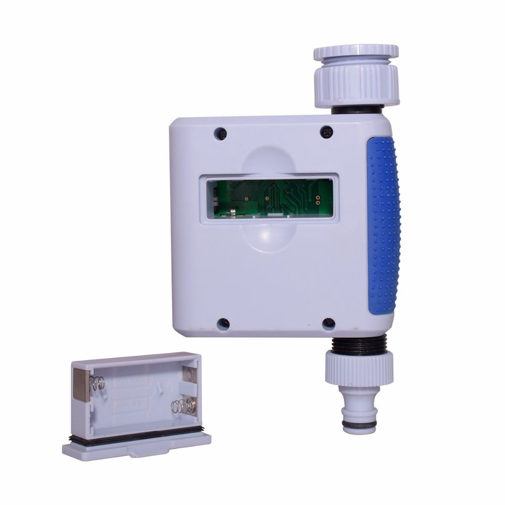 Digital Garden Water Timer Dial LCD Screen Automatic Electronic Waterproof Irrigation Controller