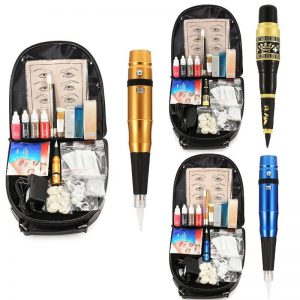 Permanent Eyebrow Makeup Complete Tattoo Machine Pen Kit