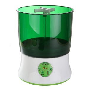 220V Intelligent Fully Automatic Household Bean Sprouts Machine Seed Cereal Tool