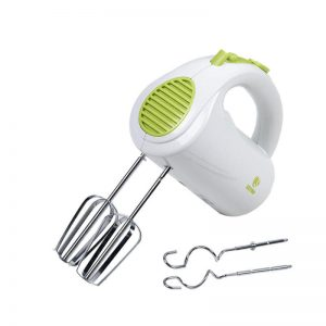 400W High Power Electric Hand Mixer 5-Speed Easy Mix ABS Cream Mixer Egg Beater 220V EUR