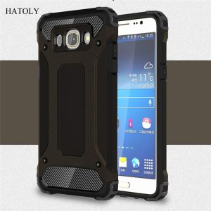 HATOLY For Samsung Galaxy J5 2016 Case Galaxy J5 2016 Heavy Armor Slim Hard Tough Cover Silicone Case for Samsung J5 2016 J510#