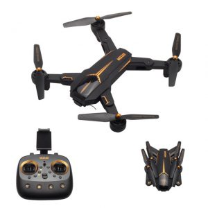 VISUO XS812 GPS 5G WiFi FPV RC Drone RTF HD Camera - BLACK 720P CAMERA