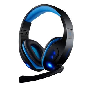 KX101 Gaming Headphone 3.5mm Wired Over Ear Headphone Headset with Mic