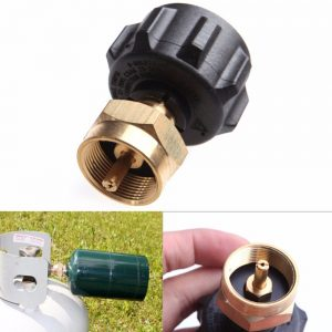 1 LB Gas Propane QCC1 Regulator Valve Propane Refill Adapter Outdoor BBQ Tools 2017 Tank filling adapter