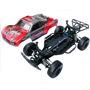 1/10 Brushless 2.4G 4WD RC Frame not include Electric Suspension Tyre Kit RC Car Part DIY Toys Confrontation with Traxxas Slash