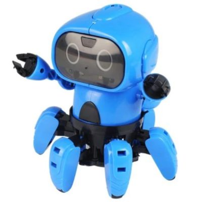 DIY Assembled Electric Robot Induction Educational Toy
