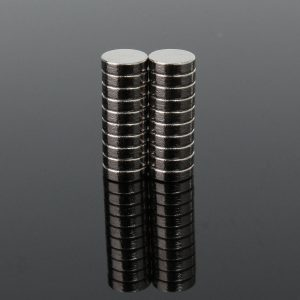 "200pcs 5x1.5mm Strong Neodymium N35 Fridge Magnets Disc Rare Earth 1/5""x1/16"" Magnetic Toys"
