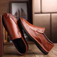 Men Soft Breathable Slip On Casual Flats