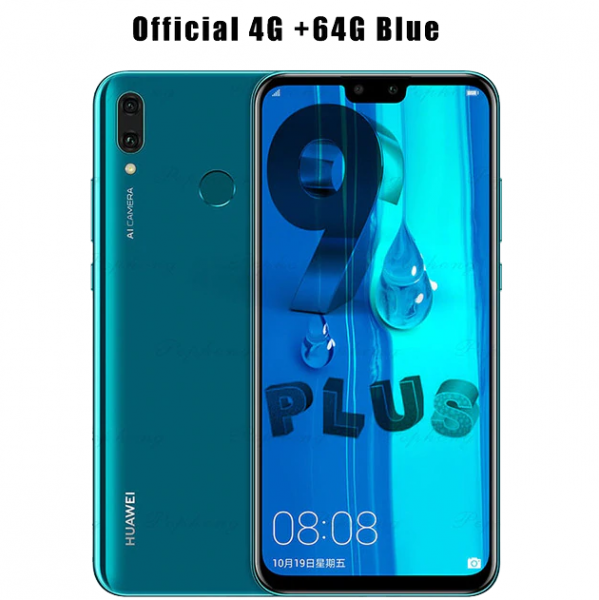 Huawei Y9 2019 Smartphone 6.5 inch Full Screen 2340x1080 Hisilicon Kirin 710 Octa Core Android 8.1 4000mAh 4*Camera 3