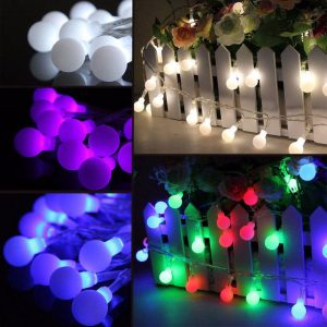 10M 100 LED Fairy String Light Berry Ball Lamp Wedding Christmas Tree Party Decor